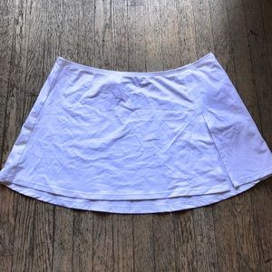 La Blance White Swim Skirt NWT